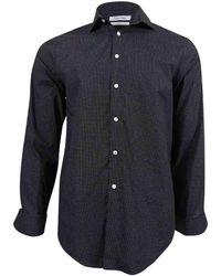 CALVIN KLEIN 205W39NYC - Polka Dot Long Sleeves Button-down Shirt - Lyst