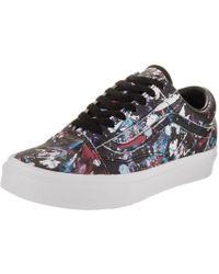 43b13a70ef Lyst - Vans Unisex Old Skool (butterfly Dreams) Blk trw Skate Shoe 5 ...