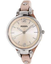 Fossil - Es2830 Georgia Stainless Steel Watch - Lyst
