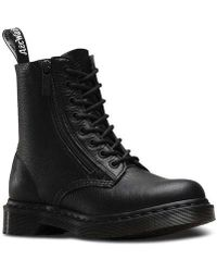 Dr. Martens - Pascal 8-eye Zip Boot - Lyst