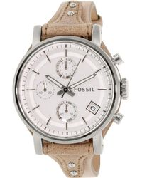 Fossil - Es3625 Original Boyfriend Leather Watch - Lyst
