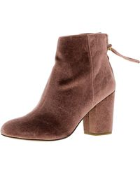 d6460795543 Steve Madden - Cynthiav Ankle-high Fabric Boot - 7m - Lyst