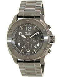 Fossil - Modern Machine Fs5017 Black Dial Watch - Lyst