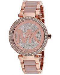Michael Kors - Mk6176 Parker Stainless Steel Watch - Lyst