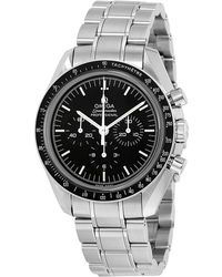Omega - Speedmaster Professional Moon Chronograph Watch 311.30.42.30.01.006 - Lyst