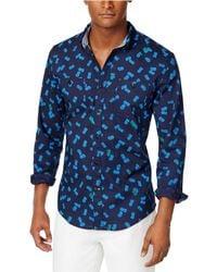 Tommy Hilfiger - Pineapple Critter Button Up Shirt - Lyst