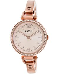 Fossil - Es3226 Gerogia Stainless Steel Watch - Lyst