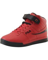Fila - Vulc-13-mid-plus Sneakers Shoes - Lyst