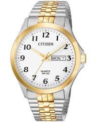 Citizen - Bf5004-93a Quartz Watch 38mm Stainless Steel - Lyst