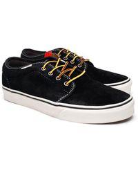 a163c65b80 Vans - Unisex 106 Vulcanized Sneakers Black M7 W8.5 - Lyst