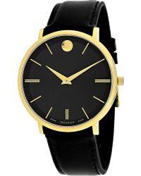 Movado - Womens Ultra Slim Watch - Lyst