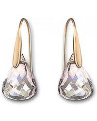 Swarovski - Lunar Pierced Earrings - Lyst