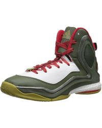 841a6d4b21f1 Lyst - Adidas Men s D Rose 5 Boost Basketball Sneakers From Finish ...