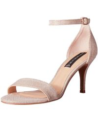 Steve Madden - Steven By Viienna Leather Open Toe Special Occasion Ankle... - Lyst