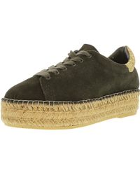 8473920810 Steve Madden - Juno Suede Olive Ankle-high Fashion Sneaker - 6.5m - Lyst