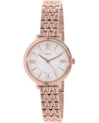 Fossil - Es3799 Jacqeline Stainless Steel Watch - Lyst