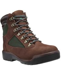 "Timberland | Field Boot 6"" Fabric And Leather Waterproof Boot 
