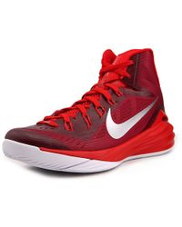 d693ed721b04 Lyst - Nike Hyperdunk 2015 Round Toe Canvas Basketball Shoe in Black ...