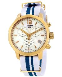 Tissot - Quickster Chronograph Unisex Watch T0954173711701 - Lyst