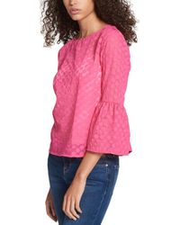 Tommy Hilfiger - Polka Dot Bell Sleeves Pullover Top - Lyst