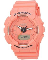 G-Shock - Gmas130vc-4a (orange) Watches - Lyst