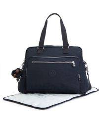 af87118be4a9 Lyst - Marc Jacobs Leather Diaper Bag Black in Metallic