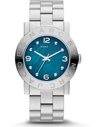 Marc Jacobs - Mbm3272 'amy' Stainless Steel Watch - Lyst