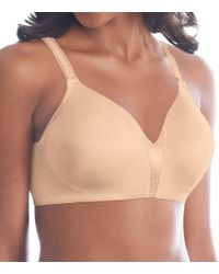 361161ebade20 Bali - Df6556 One Smooth U Smoothing And Concealing Wirefree Bra - Lyst