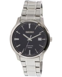 d456b96a7 Seiko - Neo Classic Sgeh41 Stainless-steel Japanese Quartz Dress Watch -  Lyst