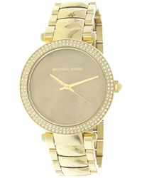 45fac3b05a85 Michael Kors - Parker Mk6425 Stainless-steel Japanese Quartz Fashion Watch  - Lyst