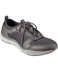 Lyst - Vans The Old Skool Sneaker in Black Pewter True Blue in Black ... 67500570f