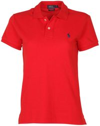 Polo Ralph Lauren - Classic Fit Mesh Pony Shirt - Lyst