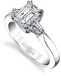 Harry Kotlar - Emerald Cut Classico Ring - Lyst