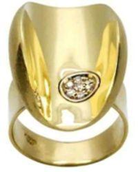Daou Jewellery - Diamond Ellipse Ring - Lyst