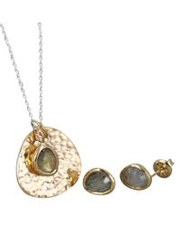 Reeves and Reeves - Lexi-jane Necklace And Matching Earrings - Lyst