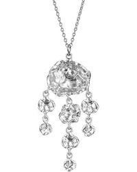 Joseph Lamsin Jewellery - Sterling Silver Jelly Fish Necklace - Lyst