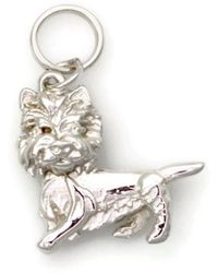 Donna Pizarro Designs 14kt Yellow Gold Rat Terrier Charm mShxslaxzG