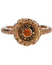 Susan Wheeler Design - Orange Garnet Ring - Lyst