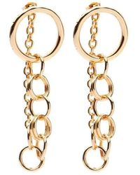 Susan Driver - The Light Drop Earrings Gold Plated - Lyst