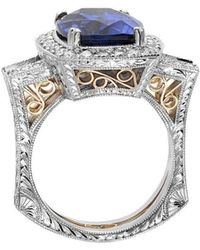"Dallas Prince Designs - ""eugenio"" Ring With Tanzanite And Diamonds - Lyst"