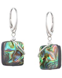 Naomi Jewelry - Blaze Twist Earrings - Lyst