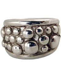 Charlotte Cornelius - Silver Wide Dome Ring - Lyst
