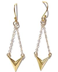 Radha - Aint No Hollaback Girl Earrings - Lyst