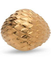 MARINA SKIA - Viper Gold Bombe Ring - Lyst
