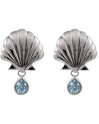 Isa Bagnoli - Blue Mer Earrings - Lyst