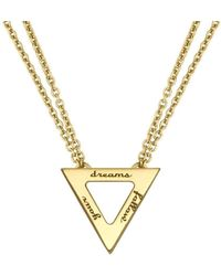 Ongkara - Follow Your Dreams Necklace - Lyst