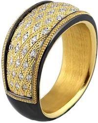 "Zoltan David - ""cleopatra"" Precious Topaz Bronze Ring - Lyst"