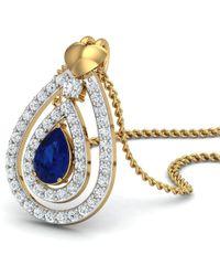 Diamoire Jewels Brazilian Emerald Cut Emerald and Diamond Pendant Handmade in 18kt Yellow Gold nYcvE94UOQ