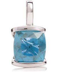 MANJA Jewellery - Juliet Blue Topaz Necklace - Lyst