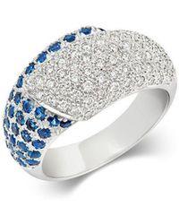 Tivon Fine Jewellery - Tivon Sapphire Cocktail Ring - Lyst